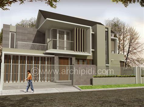 desain eksterior rumah tropis modern jasa desain rumah tropis modern jasa arsitek tropis