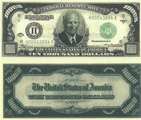 set of 25 - $10,000 ( Ten thousand Dollar ) fake money ... $10000 Bill For Sale