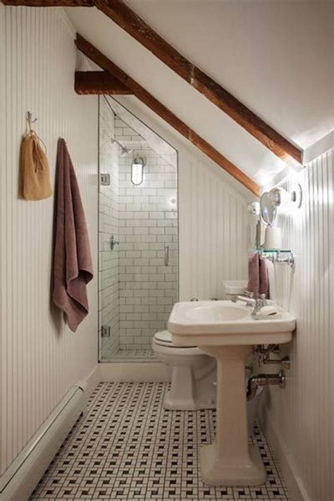 bathrooms in attic spaces 43 useful attic bathroom design ideas interior god