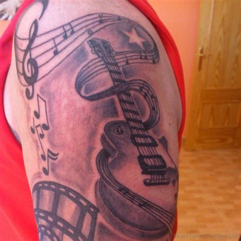 music tattoos designs for guys 54 attractive tattoos for shoulder