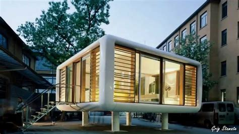 smarter small home design kit loftcube a smart small modular home design youtube