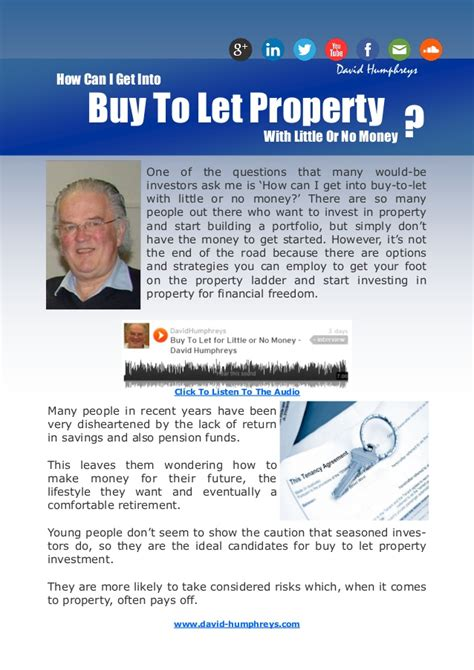 how can i get money to buy a house how can i get into buy to let property with little or no