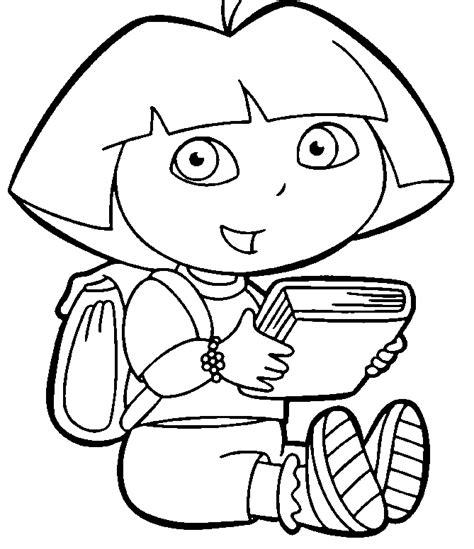 Dora Princess Coloring Pages Coloring Home Princess The Explorer Coloring Pages