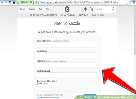 email zazzle how to create an account on zazzle com 7 steps with