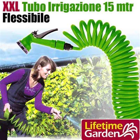 tubo giardino tubo irrigazione giardino piante 15 metri pvc estensibile