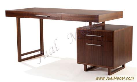 Meja Kantor Minimalis jakarta meja kantor jati minimalis harga murah mebel jepara