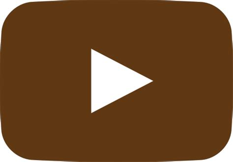 Brown Play icon svg vector domain icon park the