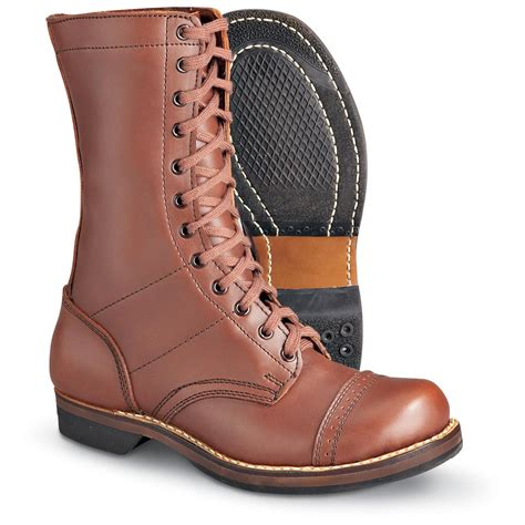 ww2 boots s reproduction u s wwii paratrooper boots