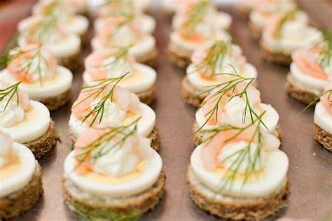 define canape food recipes great chefs
