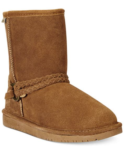 bearpaw boots macys bearpaw or adele boots sale