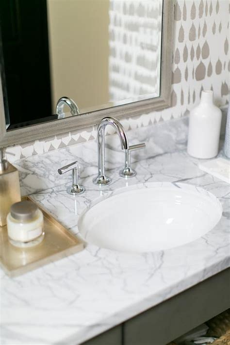 Beveled Bathroom Vanity Mirror Silver Bathroom Wallcovering Design Ideas
