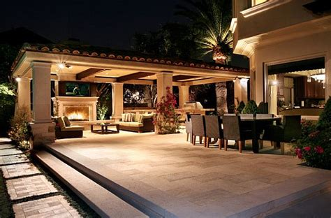 deck makeover a covered porch room for dining and decorating with a mediterranean influence 30 inspiring