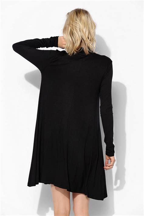 knit swing dress urban outfitters sparkle fade knit turtleneck swing dress
