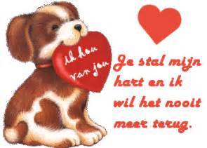 leuke hond liefdes plaatjes