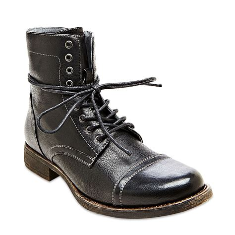 Steve Madden Shoes by Steve Madden Madden Tylerr Boots In Black For Lyst
