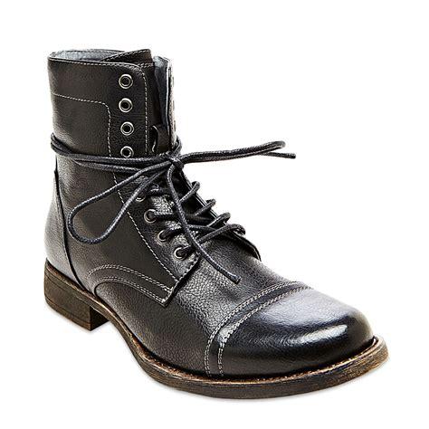 madden boots steve madden madden tylerr boots in black for lyst