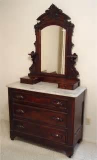 Vintage Bedroom Dresser Walnut Marble Top Dresser Sold Paper