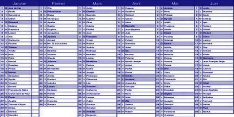 Calendrier Avec Fete Des Prenoms Pr 233 Noms Et Int 233 Gration V 233 Rit 233 H 233 R 233 Sie Provence Info