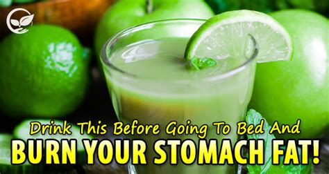 what to drink before bed drink this and burn your stomach fat healthier way of life
