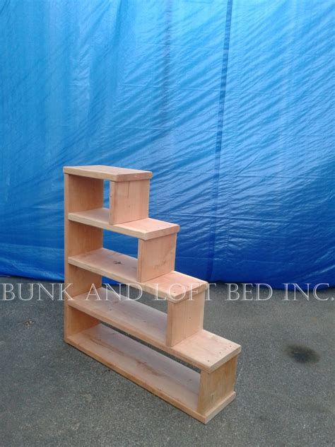 stair bed stair case shelf for bunk and loft bed