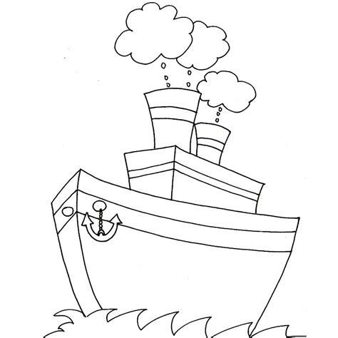 dessin bateaux facile dessin bateau de peche