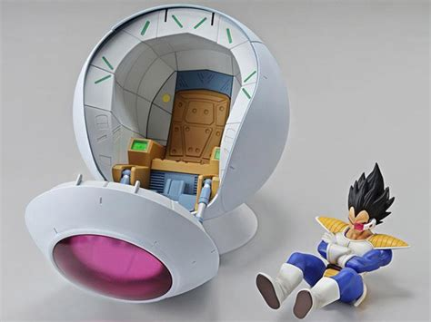 Figure Rise Mechanics Saiyan Space Pod bandai z figure rise mechanics saiyan space pod