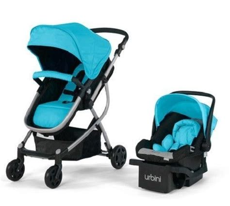 modern car seat and stroller urbini omni plus travel system teal theshopville