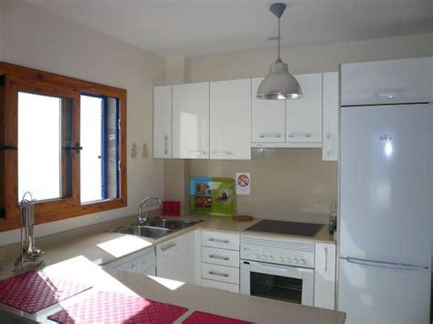 apartment küche ferienwohnung lanzarote casitas mar ii
