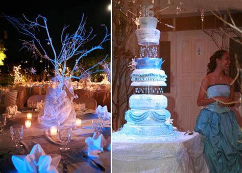 sweet 16 winter decorations selena cakes sugar artistry http selenacakes
