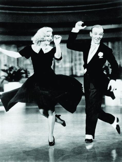 swing time cast still of fred astaire and ginger rogers in swing time