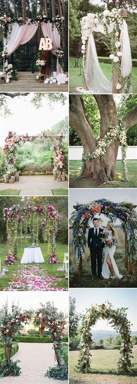Backyard Wedding Altar Ideas 25 Best Ideas About Wedding Trends On 2017
