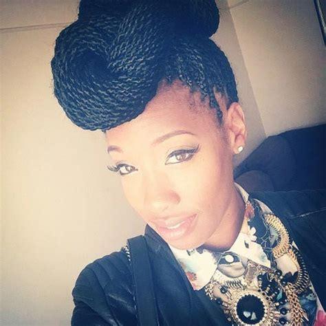 senegalese twist hairstyles  black women stayglam