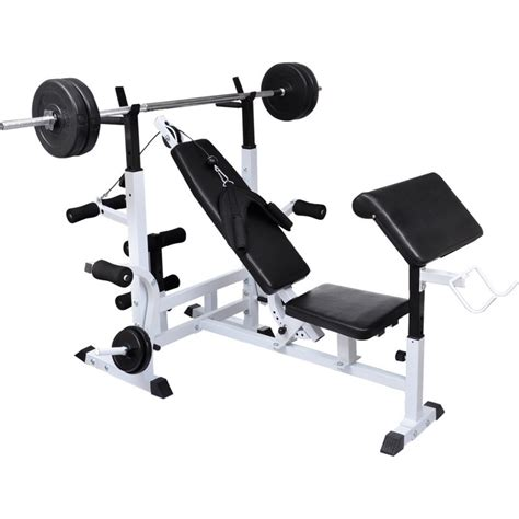 gym equipment benches home gym equipment steel weight bench in black buy