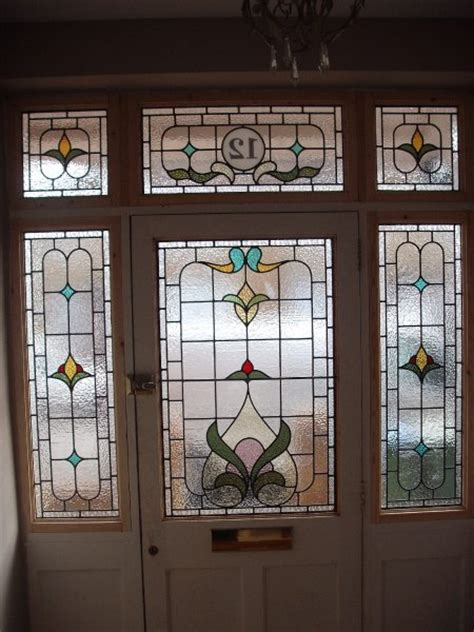 front door tinted glass edwardian stained glass edwardian stained glass