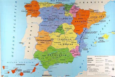 libro andalusia regional map 578 mappa delle regioni spagnole cartina delle regioni della spagna