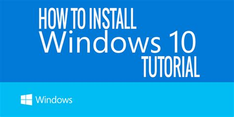 install windows 10 step by step how to install the windows 10 step by step tutorial