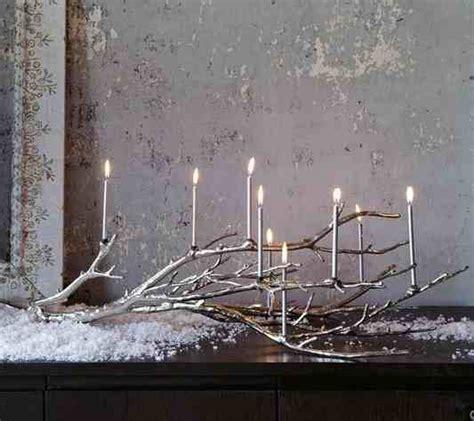 ramas decoracion interiores un candelabro hecho con ramas decoraci 243 n de interiores