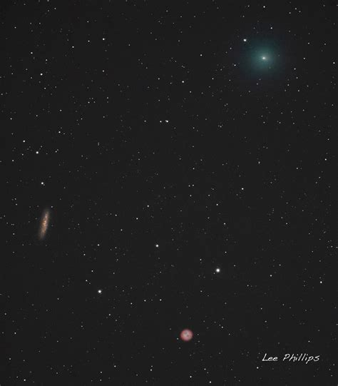 comet 41p comet 41p tuttle giacobini kresak passing m108 and m97 the