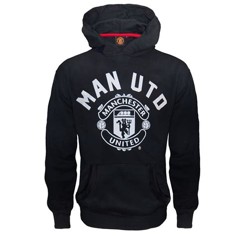 Vest Hoodie Manchester United Fc 3 manchester united fc official football gift boys fleece hoody ebay