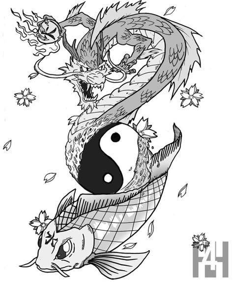 koi fish dragon tattoo koi ideas and koi designs page 27
