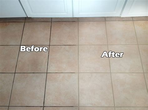 grout tile grout sealing before after images seal systems