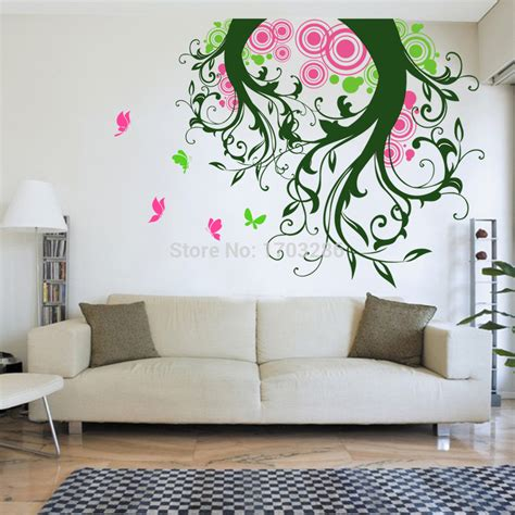 living room decals wall art design ideas magic hand craving wall art