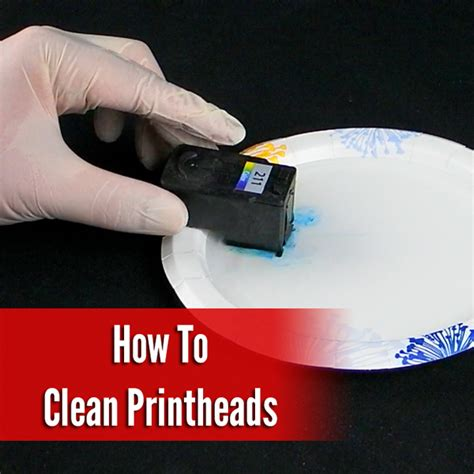 how to clean printhead cleaning