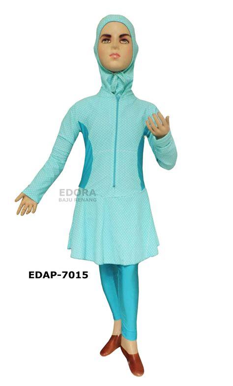 Reseller Baju Daerah Jawa Timur baju renang muslimah anak anak edap 7015 distributor dan toko jual baju renang celana alat