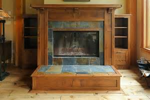 arts and craft fireplace mantel the woodwork not so