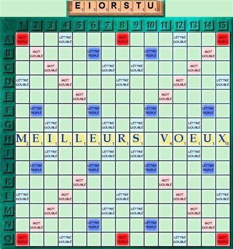 Grille De Scrabble by Jeux En T 234 Te Jeu De Lettres