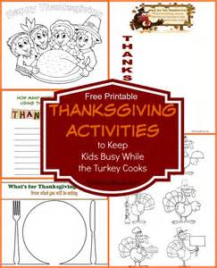 thanksgiving units thanksgiving activities to keep kids busy while the turkey
