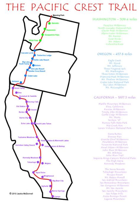 map of oregon pacific crest trail best 25 pacific crest trail ideas on pct