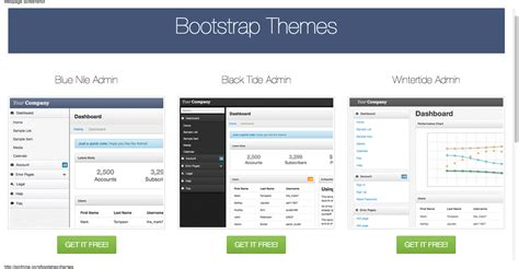 bootstrap themes free cdn free bootstrap admin themes david carr web developer blog