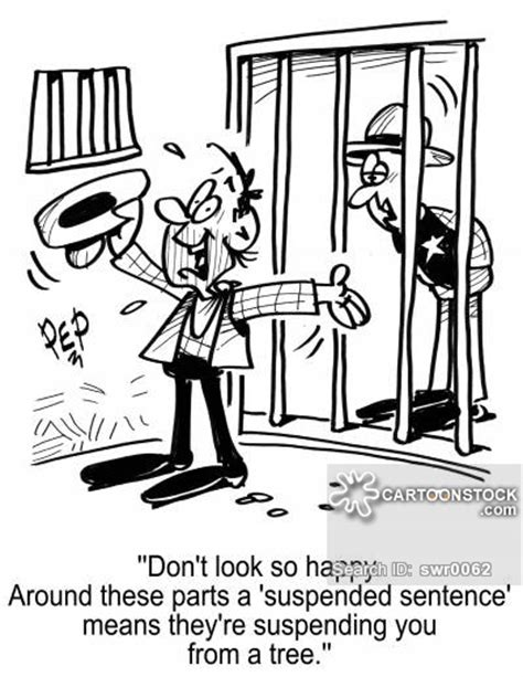 Suspended Sentence Criminal Record Suspended Sentences And Comics Pictures From Cartoonstock